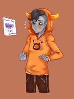 Tavros- A note? by Omnomnom-Monster
