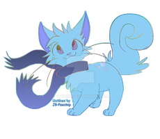 Scarf Cat Adoptable ~ OPEN by TAyukii