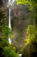 Mists of Multnomah by Joshua-Cramer
