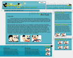 Disney Blog Template by jimkimjat