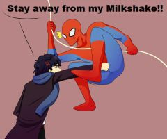 AT: Sherlock Vs Spiderman by Bobstickles