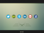 Social Media Icons by alpercakici