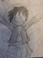 TS Luffy  for 30 day challenge by Lepuppy7