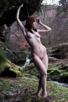 Nude with Rocks by ChrissieRed