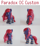 Paradox OC Custom Pony by alltheApples