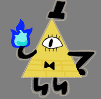 Bill Cipher ~ Gravity Falls by Pohler458