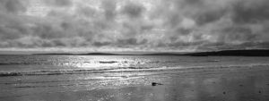 cloudy day at seaside by psychodelic-candy