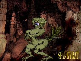 A hideous Creature by sparkyrat