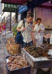 Fish market. China town. by adanethiel