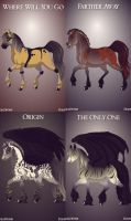 Evanescence Horse Adoptables 3.5 pt 2 CLOSED by ForeverFallen16