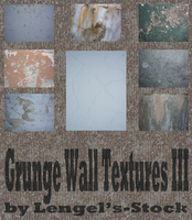 Grunge Wall Texture Pack III by Lengels-Stock