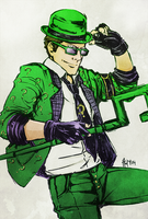 Riddler for higgystar by Meinarch