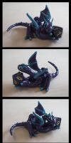Purple Dice Dragon by Cyle