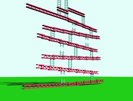 Donkey Kong Level work by mohaned600
