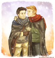 a bit of winter lovin' by lumen-a