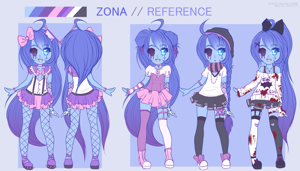 Zona Reference sheet by Lunathyst