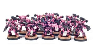 Angels of Ecstasy Chaos Space Marines by Dullspork
