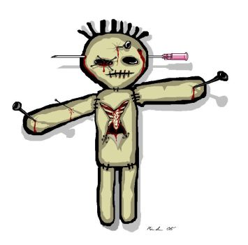 the voodoo doll by Loofen