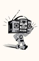 The Walking Boombox by venus7