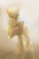 Applejack~ Have you always been a good friend by Mao-Ookaneko