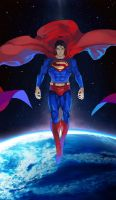 SUPERMAN by faddawdle