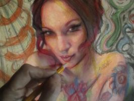 Drawing -suicidegirls by AnnarXy