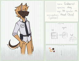 KKT | Head Chief | Gaberiel Parker by sylveonprince