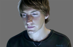 2010 Fran Kranz portrait by harbek