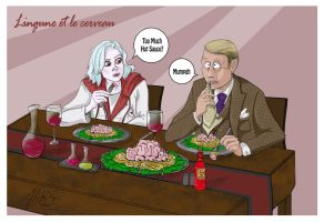 Izombieand-hannibal by JennyGorman