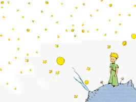 Le Petite Prince Wallpaper by Pureeyed