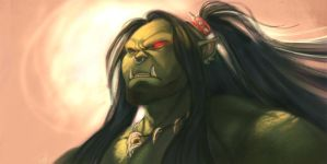 grom hellscream by Wulfgnar