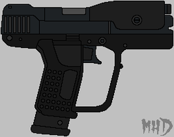 Halo 3 Pistol by hughesdm