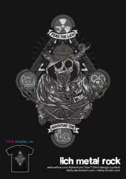 ATC: Lich Metal Rock by illeity