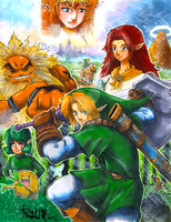 Legend of Zelda: OoT Commission by matsuyama-takeshi