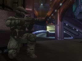 halo reach: marine by purpledragon104