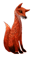 Fox Pixel by wolf-hat