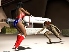 Catfight-05 by TrekkieGal