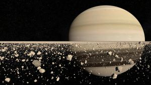 The rings of Saturn by StefanPWinc