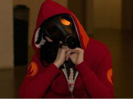 Team Fortress 2 Pyro Cosplay by Eternal-Afterglow