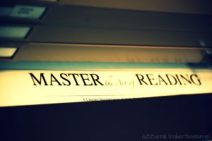 MASTER the Art of READING by robertlovesme