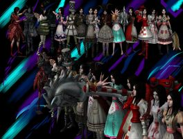 Alice madness returns all dresses by kirateufel