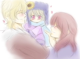 APH - Kaligra and grandparents by R-ninja