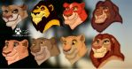 Lion King Digital Doodles 2 by coolwolfbro