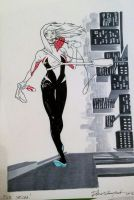 SpiderGwen commission by elena-casagrande