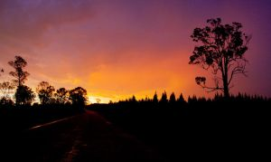 Grafton Sunset by shear-atmos-fear
