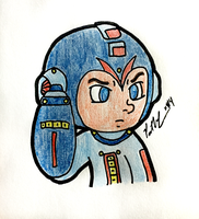 Suit Up Mega Man by chelano