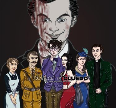 CLUEDO Sherlock: the only possible solution. by ScarletMoonbeam