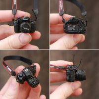 1/6 scale Camera for a Doll by striped-box