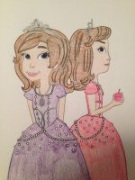 Sofia the First and Sofia the Worst by madiquin185