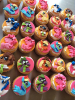 My little Pony cupcakes by Jarquin10